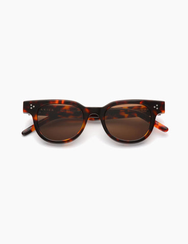 Akila Legacy Sunglasses - Brown Tortoiseshell