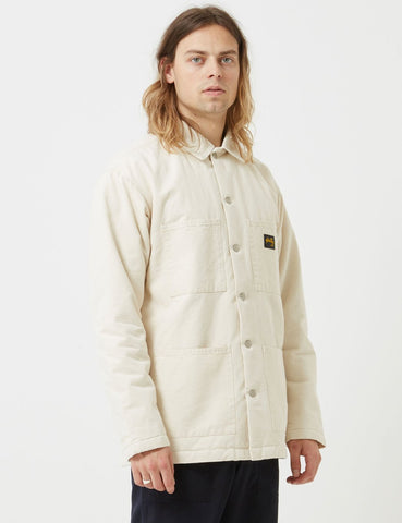 Stan Ray Lined Shop Jacket - Natural Drill