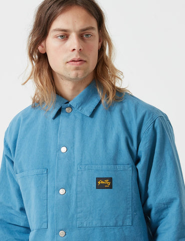 Stan Ray Lined Shop Jacket - Garage Blue