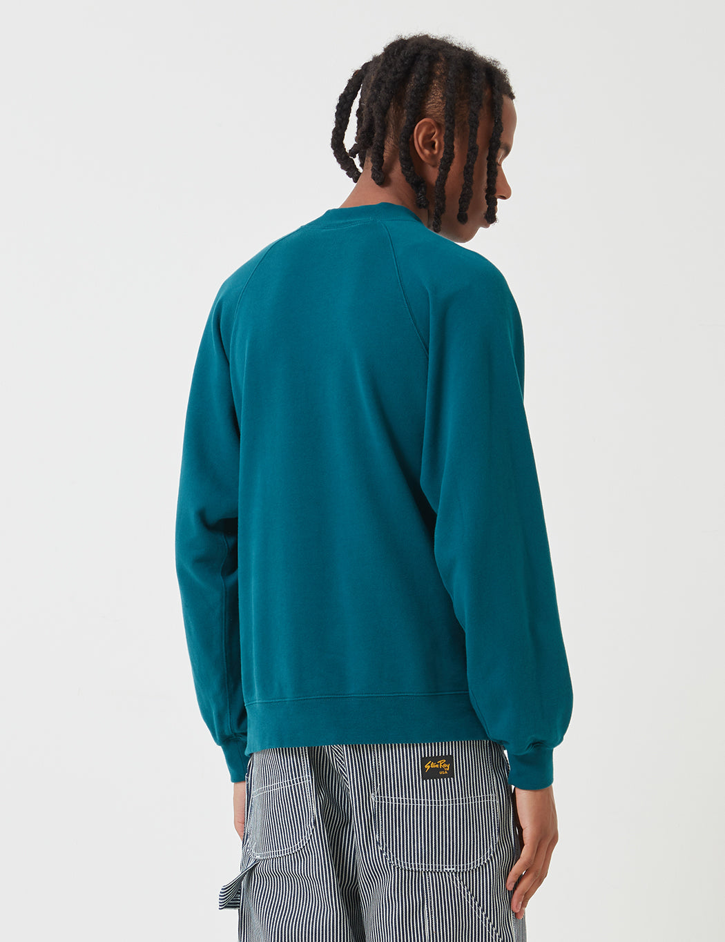 Stan Ray Roll Neck Sweat - Carbon Green