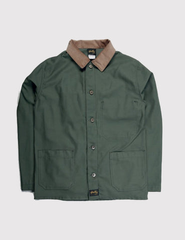 Stan Archive Jacket - Olive Sateen