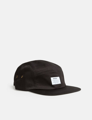 Bhode 5-Panel Cap - Black