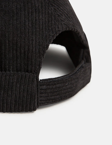 Bhode Dock Worker Hat (Cord) - Black