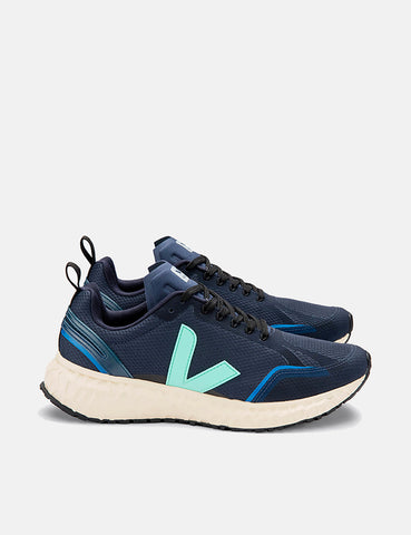 Veja Condor Mesh Running Shoes - Nautico/Turquoise/Butter Sole