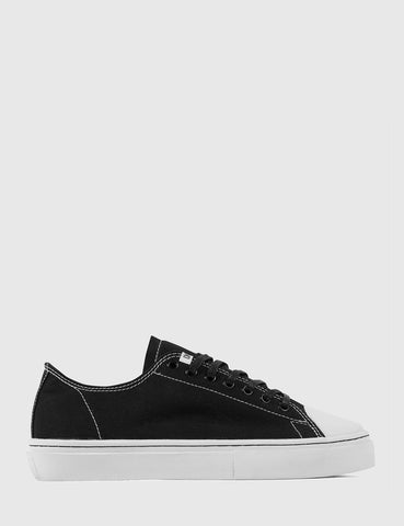 Clear Weather Sierks Low Trainers (Canvas) - Black
