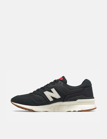 New Balance 997H Trainers (CM997HDD) - Black/Team Red