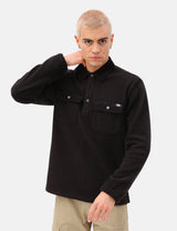 Dickies Morganza Fleece Polo - Black