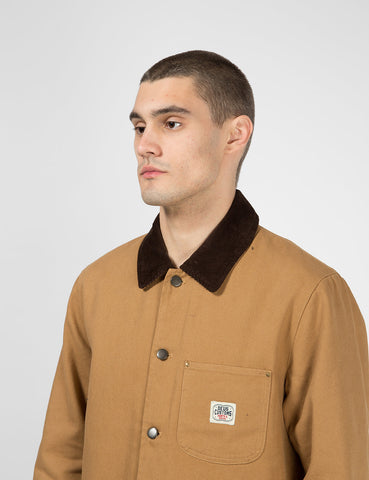 Deus Ex Machina Hank Chore Shirt Jacket - Driftwood Tan