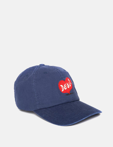 Deus Ex Machina Roving Cap - Navy Blue