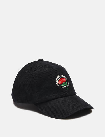 Deus Ex Machina Cherry Cap - Black
