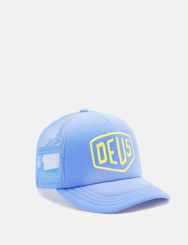 Deus Ex Machina Sunburnt Trucker Cap - Blue