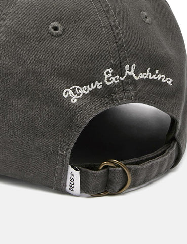 Deus Ex Machina Charlestown Cap - Washed Black