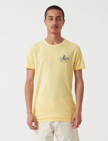 Deus Ex Machina Loggins T-Shirt - Yellow