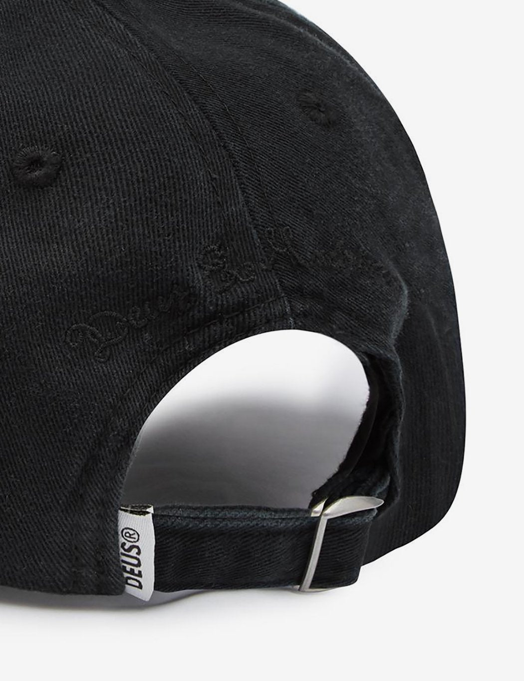 Deus Ex Machina Sunny 6-Panel Cap - Soft Black