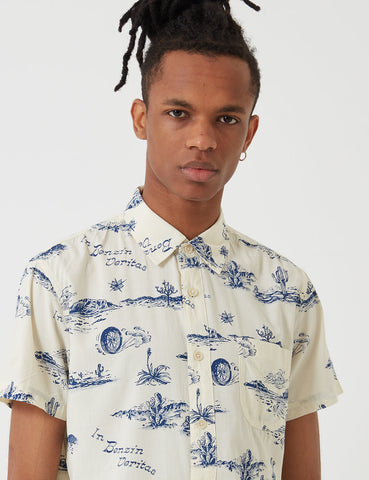 Deus Ex Machina Ralph Springs Shirt - Ecru