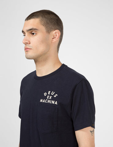 Deus Ex Machina Canggu Pocket T-Shirt - Midnight Blue