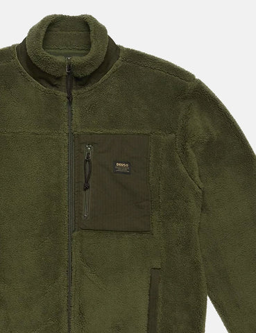 Deus Ex Machina Fletcher Fleece Jacket - Forest Green