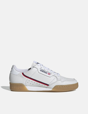 adidas Continental 80 (EE5393) - White/Collegiate Navy/Scarlet