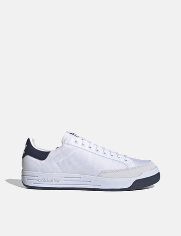 Adidas Rod Laver Shoes (G99864) - Cloud White/Collegiate Navy