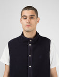 Gramicci Boa Fleece Vest - Navy Blue