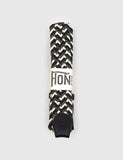 Hone Woven Plait Belt - Green