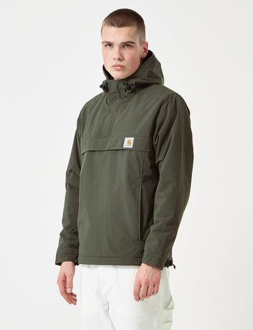 Carhartt Nimbus Half-Zip Jacket (Un-Lined) - Cypress Green