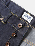 Edwin ED-80 Dark Blue Jeans 12oz (Slim Tapered) - Rinsed