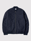 Edwin Flight Bomber Jacket - Navy Blue