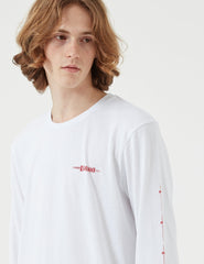 Edwin Hold All The Swords Long Sleeve T-shirt - White