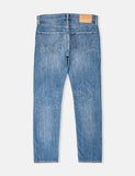 Edwin ED-55 Kingston Blue Denim Jeans 12oz (Tapered) - Clean Wash