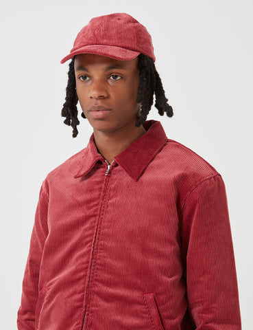 Edwin Club Jacket (Corduroy) - Ruby Wine Red