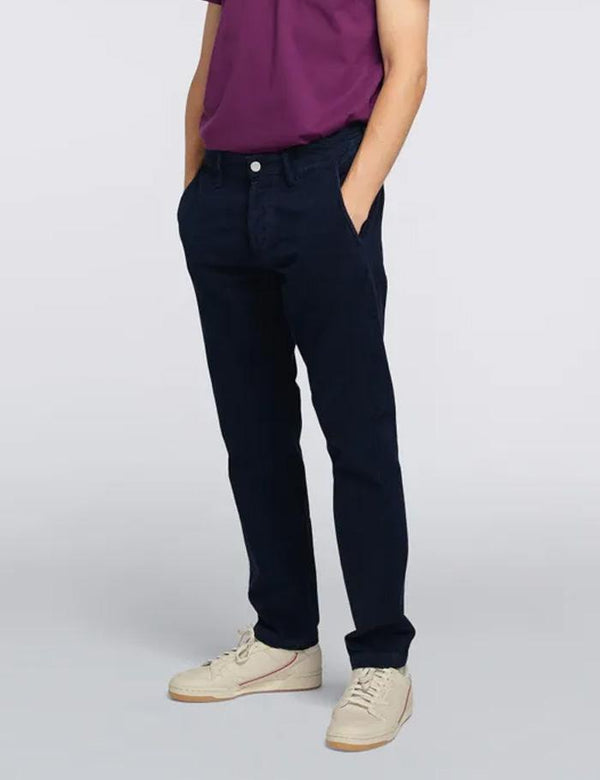 55 Corduroy Chino (Regular Tapered) - Indigo Blue
