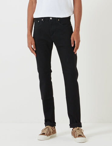 Edwin 'Made in Japan' Kaihara Selvage 12.5oz Jeans (Slim Tapered) - Black Rinsed