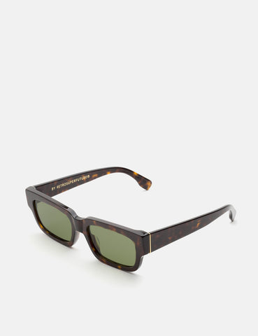 Super Roma Sunglasses - Havana/Green