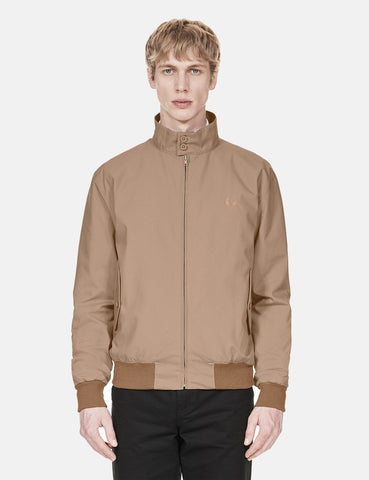 Fred Perry Re-issues Harrington Jacket - Stone