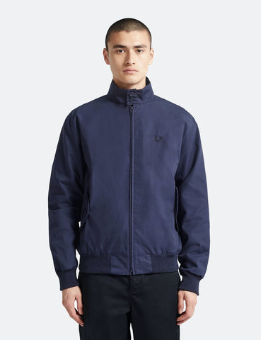 Fred Perry Re-issues Harrington Jacket (Made in UK) - Navy Blue