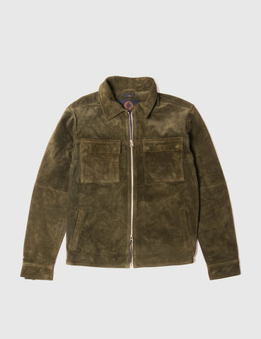 Human Scales Rick Jacket - Moss Green