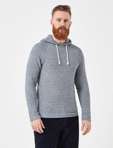 Human Scales Hans Hooded Sweatshirt - Blue