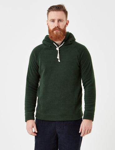 Human Scales Hans Hooded Sweatshirt - Moss Green
