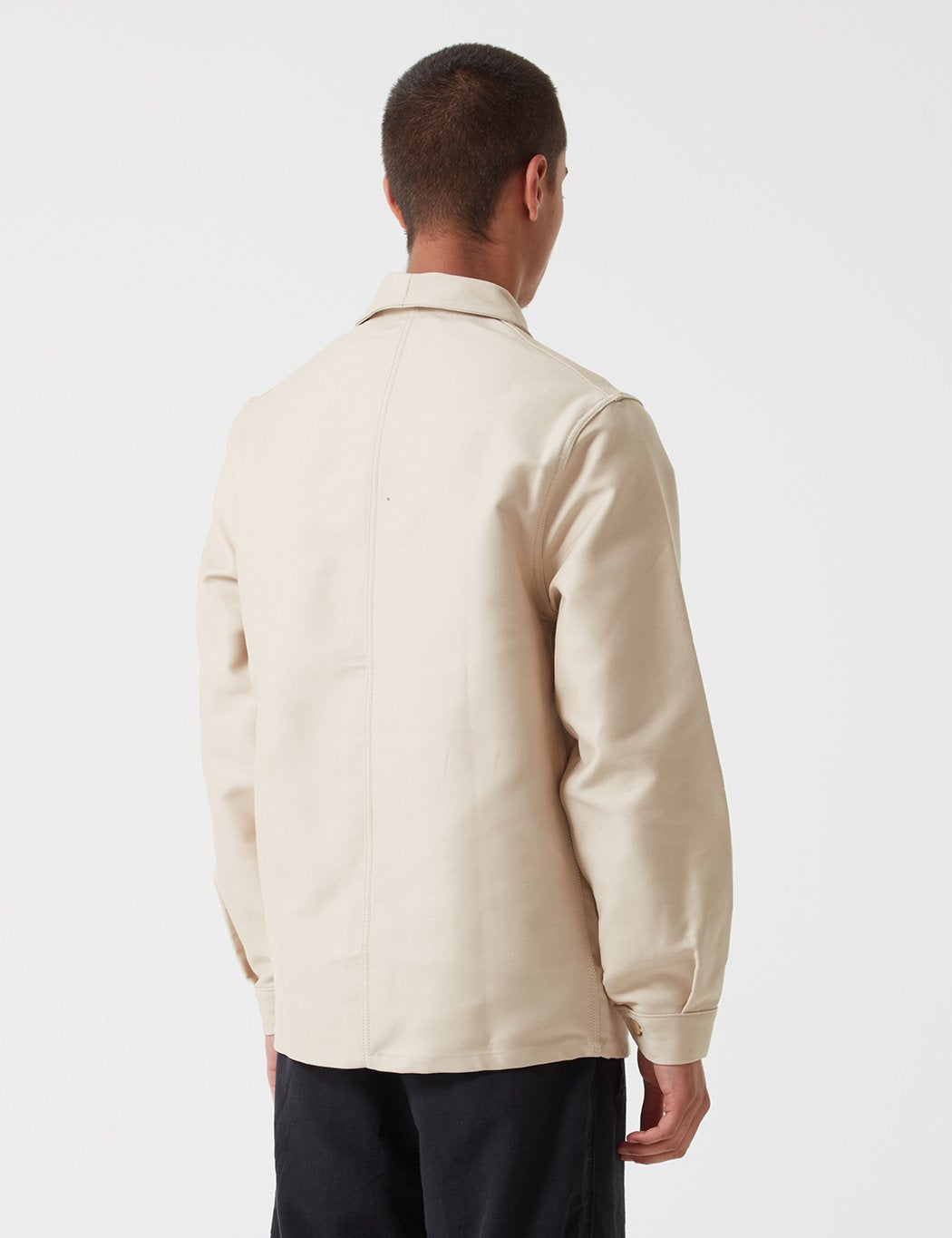 Le Laboureur Moleskin Work Jacket - Ecru