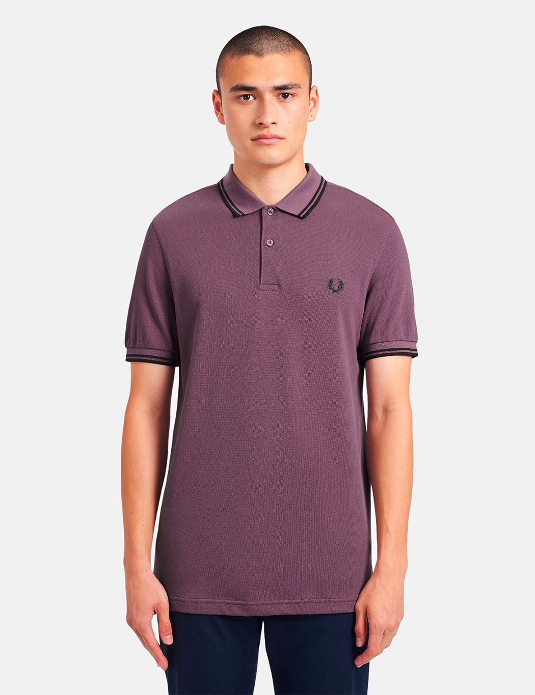 Fred Perry FRED PERRY TWIN TIPPED POLO SHIRT