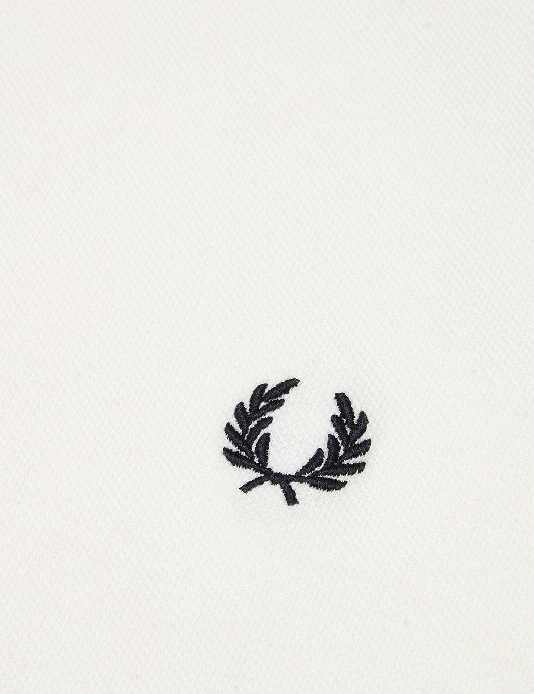 Fred Perry Crew Neck Pique T-Shirt - Snow White