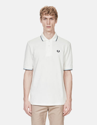 Fred Perry 1979 Pique Shirt - Snow White