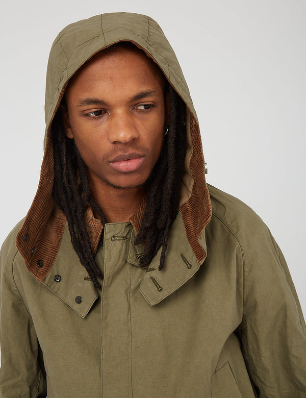 Barbour Gold Standard Ripstop Beaufort Casual Jacket - Dusky Green