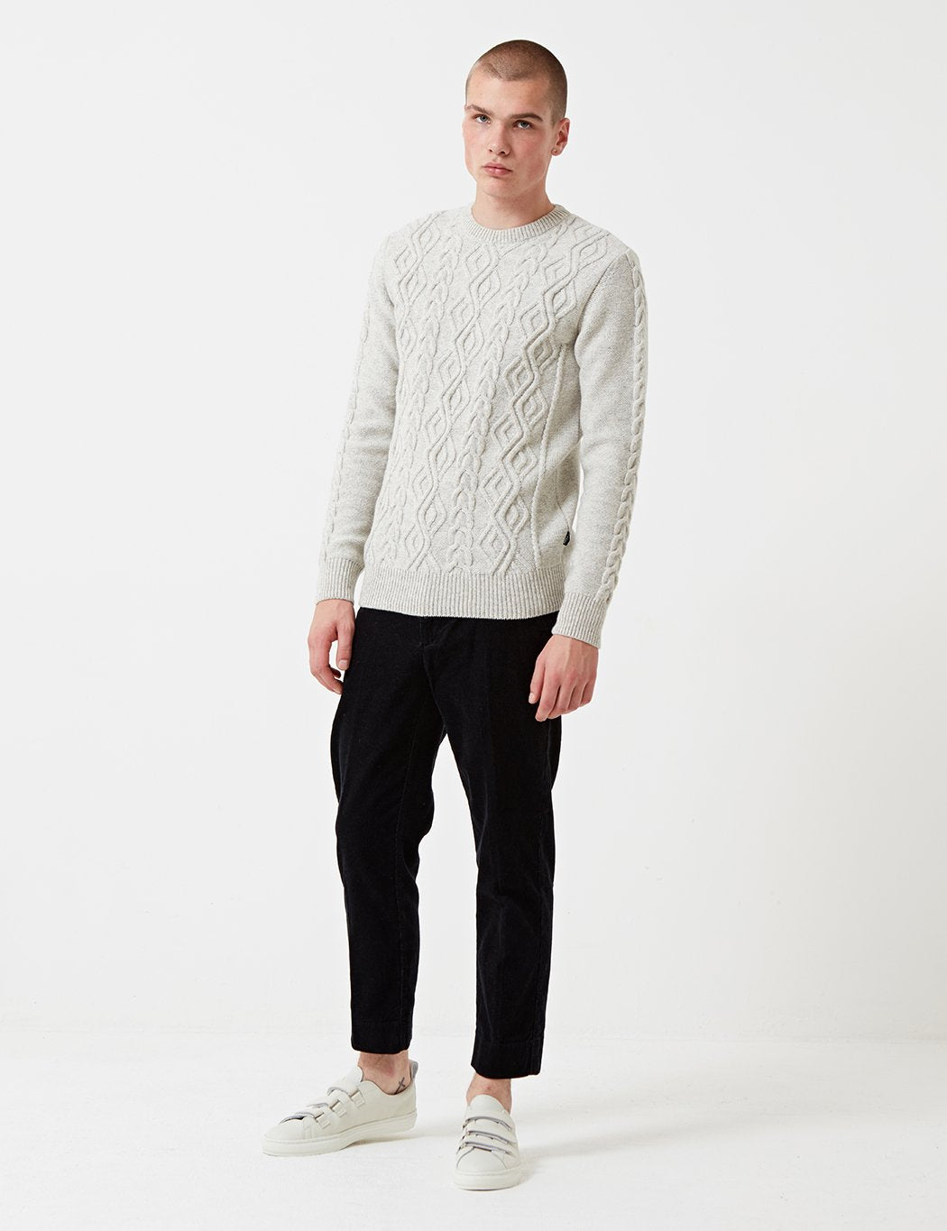 Barbour Barnard Knit Jumper - Mist