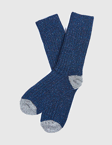 Barbour Houghton Sock - Navy Blue