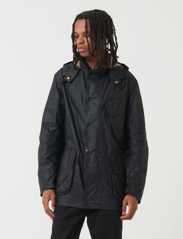 Barbour x Margaret Howell A7 Jacket (Wax) - Black