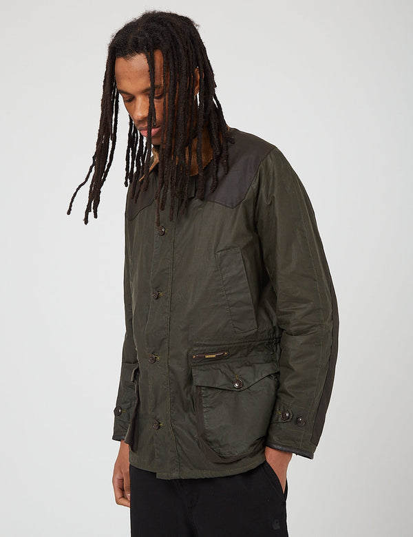 Barbour Gold Standard Oakby Wax Jacket - Olive
