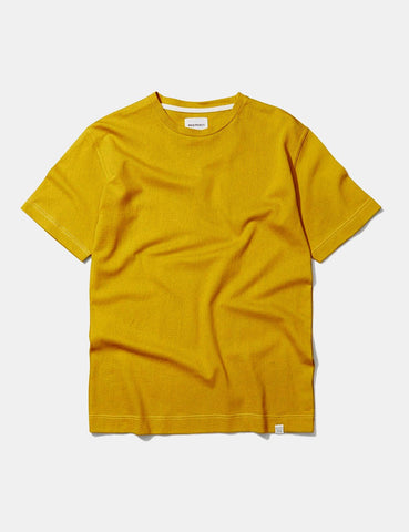 Norse Projects James Three Colour T-Shirt - Yellow Edge