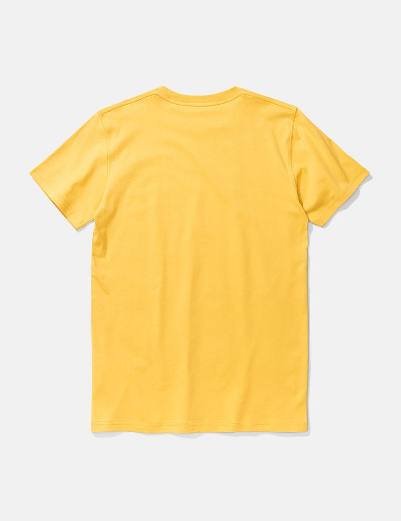 Norse Projects Niels Standard T-Shirt - Sunrise Yellow